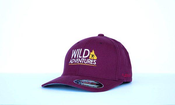 Maroon-Wild-Adventures-Cap