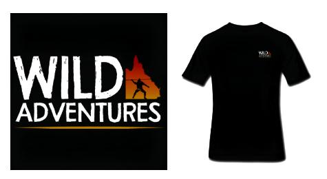 Wild Adventures Black T