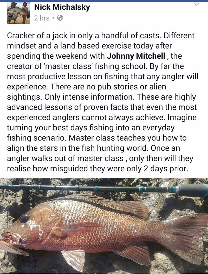 fishing testimonial